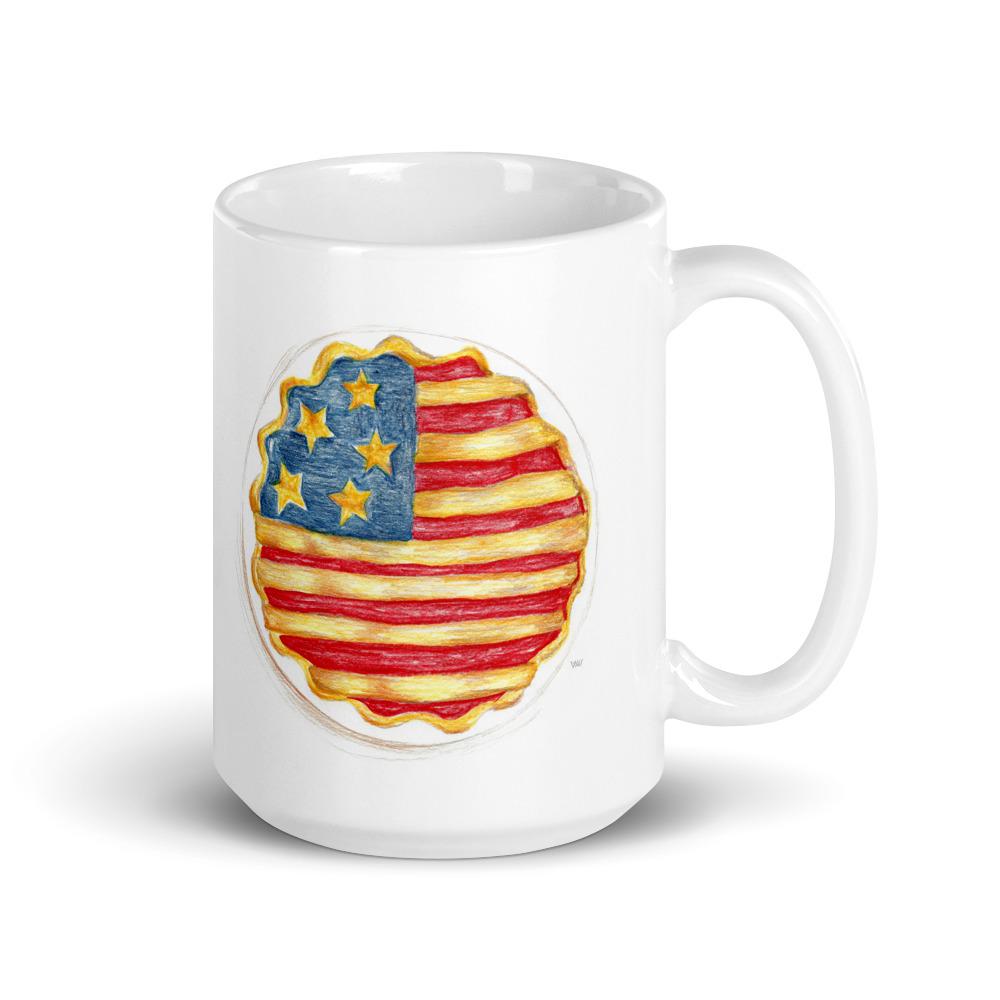 American Pie Music Mug