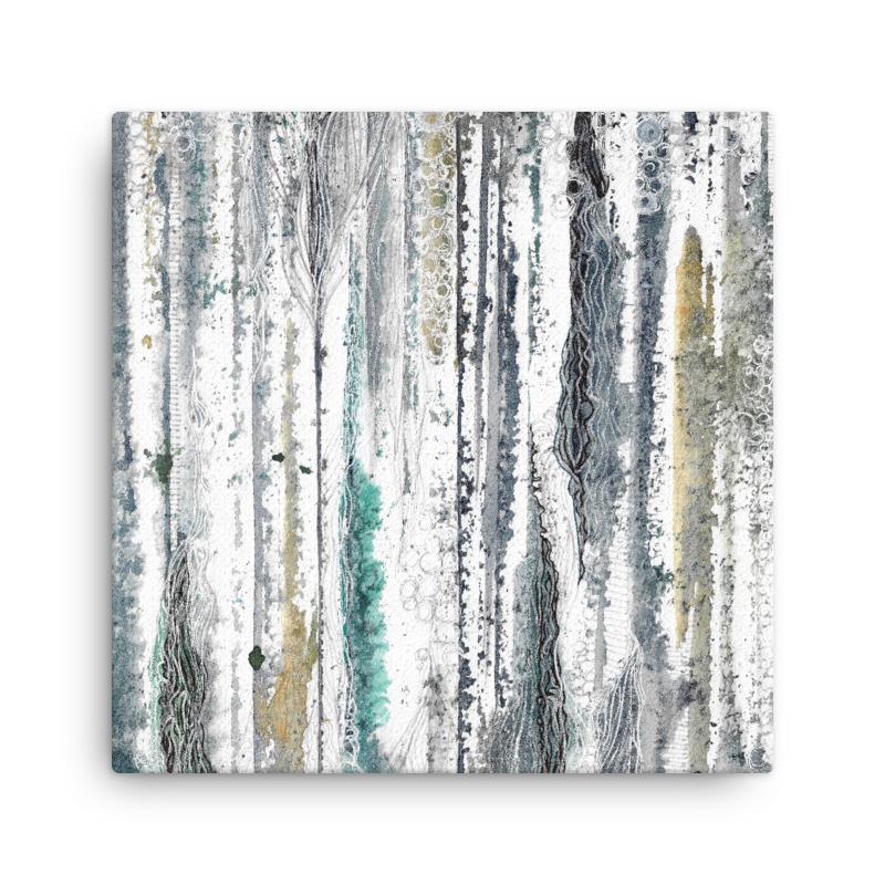 Rivers & Roads Art on canvas